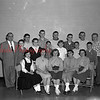 """(03.08.1956) Cast of characters in a play titled """"Penrod"""" presented by the Ralpho Township High School Dramatic Club. Pictured are, from left, Marlene Boardman, Roberta Alexander, Nancy Marchinski, Carole Adams and Nancy Leisenring; second row, Larry Richie, Marvin Wolfgang, Roger Long, Carol Smokowicz, Larry Long and Ronald Knoebel; third row, Thomas Kendig, principal; Dick Knoebel, Albert Cecco, Charles Tappe, Ronald Swank, Jim Swank and Don Herring."""