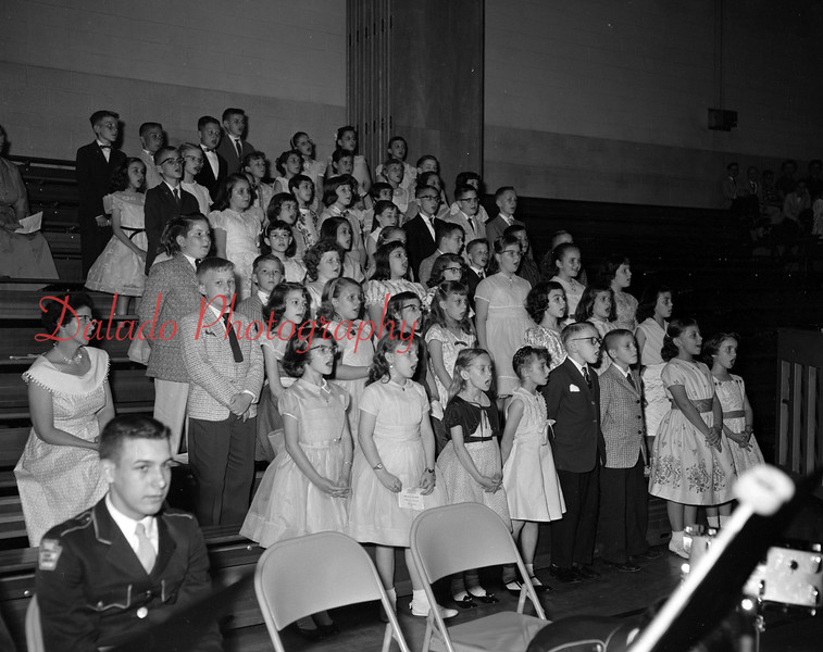 (May 1959) Maybe students in the Annex.