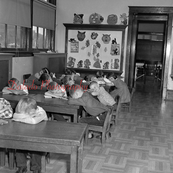 (1957 or 58) Unknown school.
