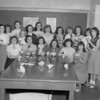 (04.05.53) Sections 8C and 8D of the McKliney Annex are, seated, from left, Catherine Johns, Kay Reiprich, Swanee Lauer, Patsy Steward, Emily Lenkens and Adele Long; standing, Peggy Shaffer, Beverly Spade, Patsy Lynch, Jeanette Zeiger, Phyllis Miller, Pansy Seger, Arlene Swisher, Dorothy Kroh, Dorothy Rowe, Carol Spotts and Bernie Oravitz.