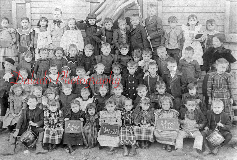 (1900) Silver Hill School.