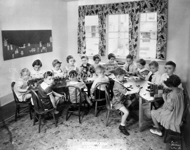 (1934) Linderman pre-school.