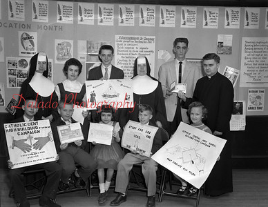 (03.29.1956) Catholic Central High School (OLOL) campaign.
