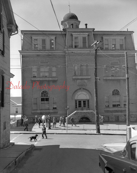 (1958) Academy Grade School- Erected in 1894 at Grant and Academy streets, it sat next to the original Academy building and also the Shamokin High School (the Northumberland County Career and Arts Center).