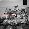 (10.27.55) Displaying pumpkin heads are fifth and sixth-grade students at the Grant School. Pictured, front row, Richard Kolody, Sherry Stoop, Barry Verano, Robert Rhoades, Dale Berstein, Jacob Price, Betsy Reese, Robert Herb and David Duchon; second, Deanna Derr, James Seid, Lucinda Wiley, Glen Henderson, Bernie Johnson, Marianne Reichwein and Cheryl Kehler.
