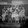 (09.13.51) Grant first-grade class under teacher Alma Henninger are, front row, from left, Donald Servowiak, Sharon Conrad, Riehard Leshock, Cheryl Kehler, James Kiehl and Barry Bowers; second, Robert Bixler, Daniel Haggerty, David Duchox, Warren Wolf, Sherry Ann Stoop and Arlene Haggerty; third, Alma Henninger, Joseph Pultynovich, Walter Wolf, Grace Wolf, Terry Tentromono, Arnold Former and Jack Spade.