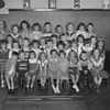 (09.13.51) Lincoln first-grade class under teacher Elizabeth Eltringham are, front row, from left, Grant Schleig, Franklin Niehoff, Susan Backes, Lillian Lupold, Billy Rene Hollines, Anna Walters, Anna Walsh, Charles Donner and Elaine Obneski; second, Linda Herb, Linda Darvis, Patricia Dettrey, Larry Curran, Helen Larria, George Smith, Patricia Rodman, William Davis, Yvonne Unger, Robert Walburn, Barbara Culp, Carol Durdock, Mary Drumheiser, Judith Smith and Sandra Miller; third, Mrs. Elizabeth Eltringham, Patricia Sterling, Jean Sobitis, Patricia Dobson, William Purcell, Walter Carpenter, Wayne Josik, Donna Mrogan and Charles Dilliplane.