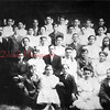 (1907) Lincoln Grade School Class of 1907. Mr. Carol is shown at upper left of the photo.