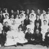 (1800s) Shamokin High School, unknown class.