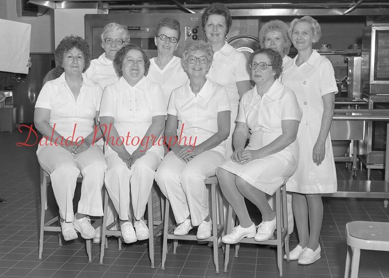 (1979-80) Shamokin Area High School- Cafeteria cooks.