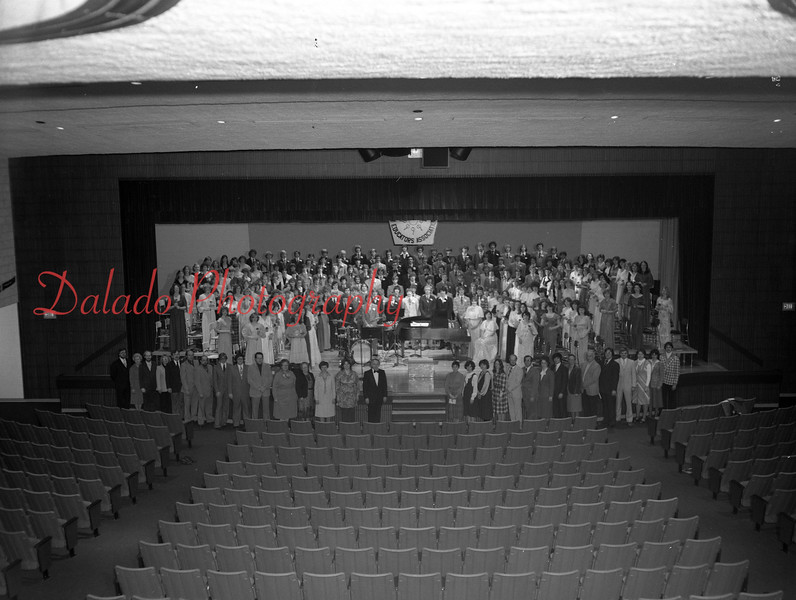 (1979-80) Shamokin Area High School- District 8 Chorus Festival in Mount Carmel from Jan. 23 to 26, 1980.