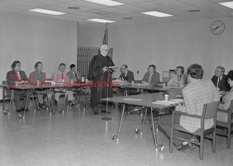 (12.05.79) Reorganization meeting of the Shamokin Area School Board.