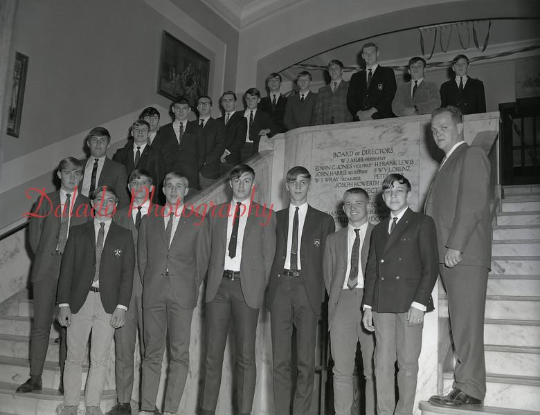(1968-69) Shamokin Area High School High Y club.