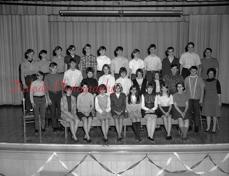 (1968-69) Shamokin Area High School Owens homeroom.