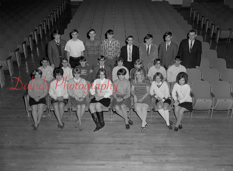 (1968-69) Shamokin Area High School Williams homeroom.