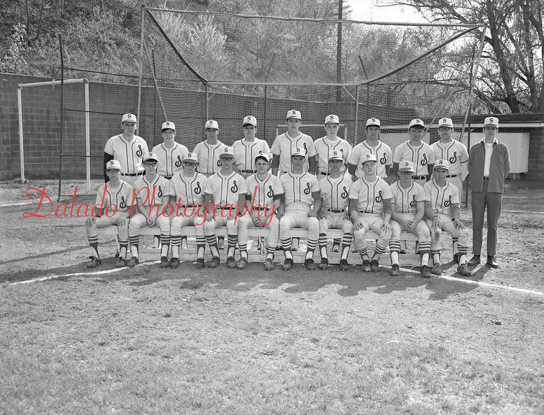 (1968-69) Shamokin Area High School baseball.