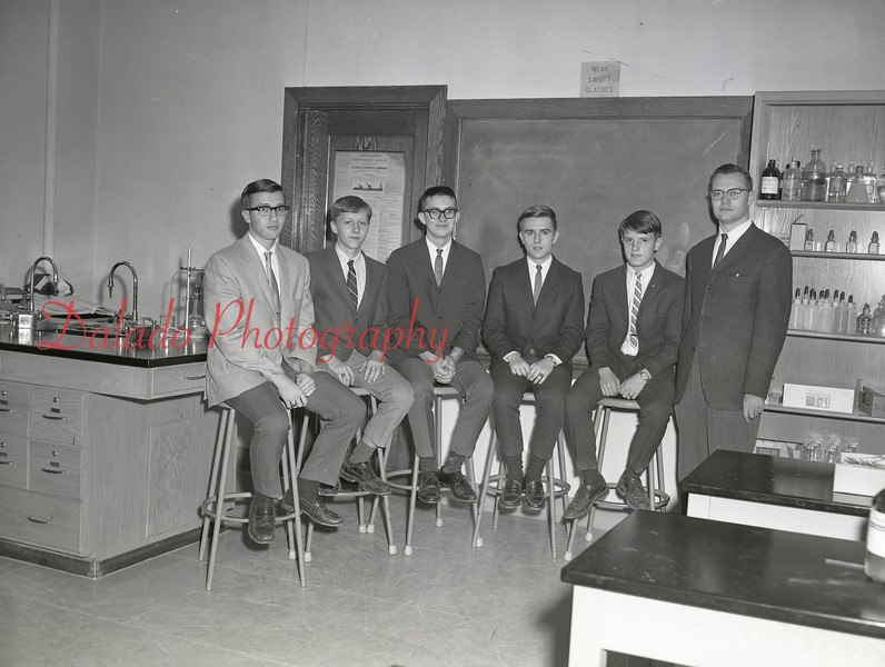(1968-69) Shamokin Area High School astronomy club.