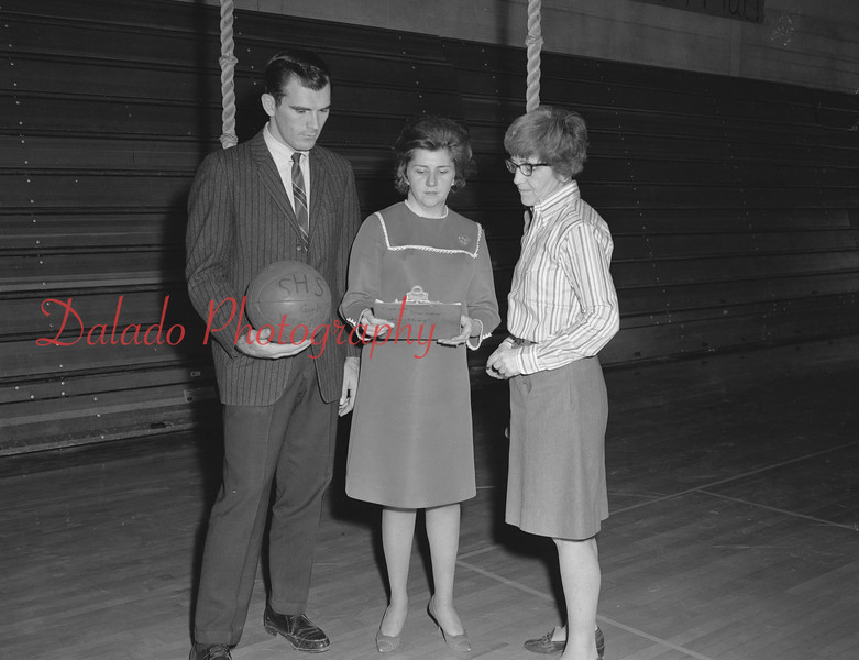 (1968-69) Shamokin Area High School gym teachers.