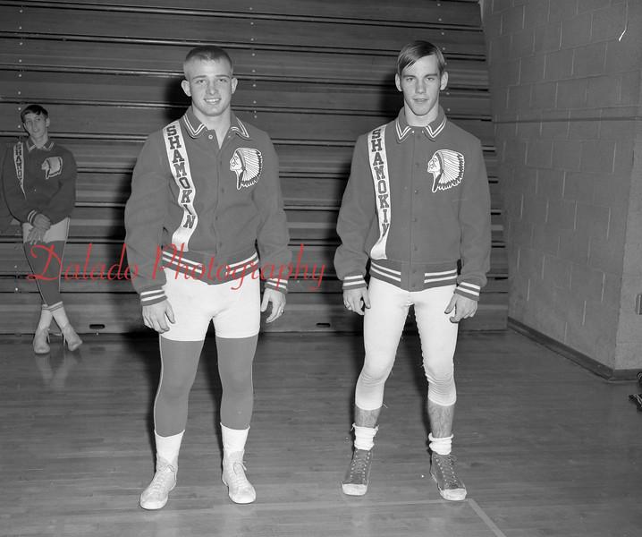 (1968-69) Shamokin Area High School wrestling.
