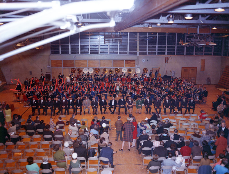 (1968-69) Shamokin Area High School band performance.