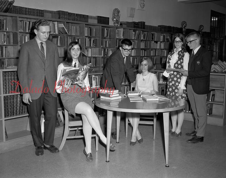 (1968-69) Shamokin Area High School.