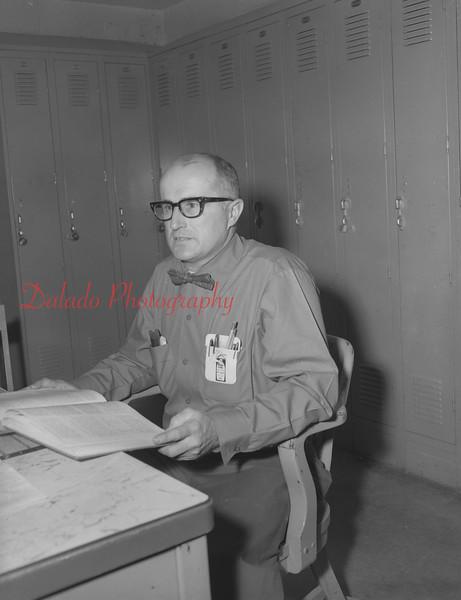 (1968-69) Shamokin Area High School carpentry.
