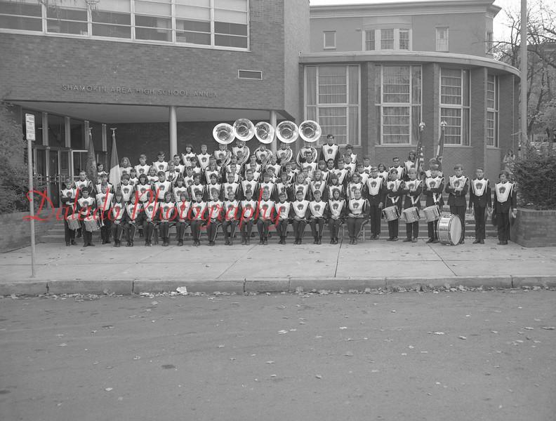 (1968-69) Shamokin Area High School band.