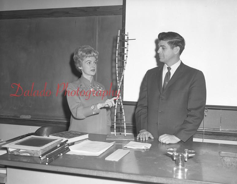 (1968-69) Shamokin Area High School biology deparment.