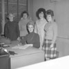 (1968-69) Shamokin Area High School Annex secretaries.