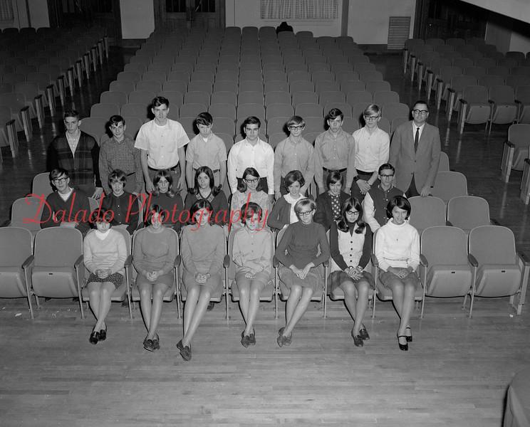 (1968-69) Shamokin Area High School Kanaskie homeroom.