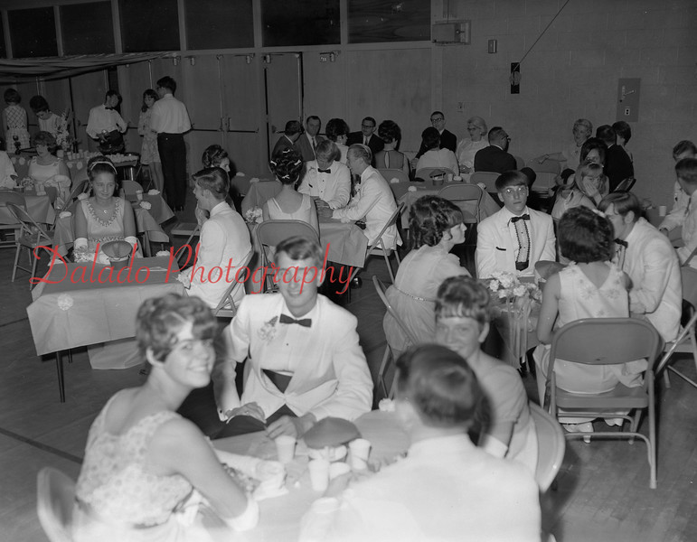 (1968-69) Shamokin Area High School prom.