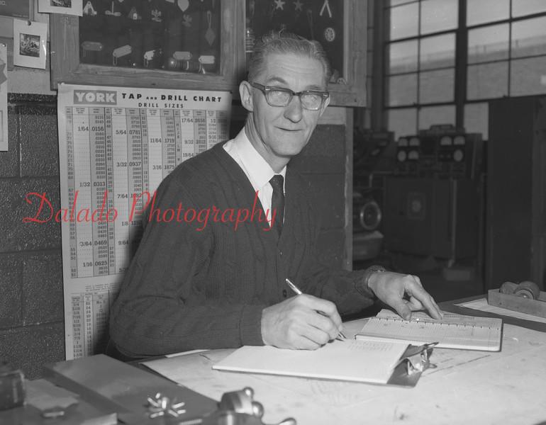 (1968-69) Shamokin Area High School Mr. Miller.