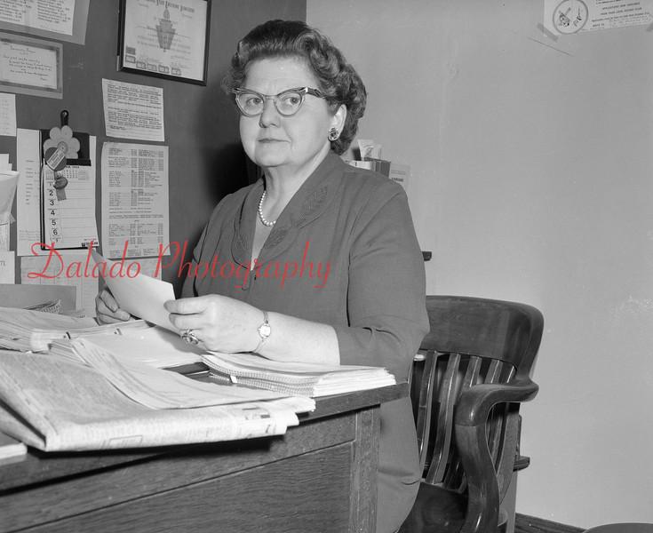 (1968-69) Shamokin Area High School Ms. Duncan.