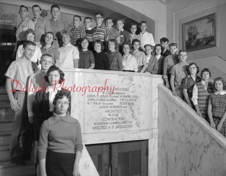 (1959-60) Shamokin High School: Eleventh graders, Fornwalt.