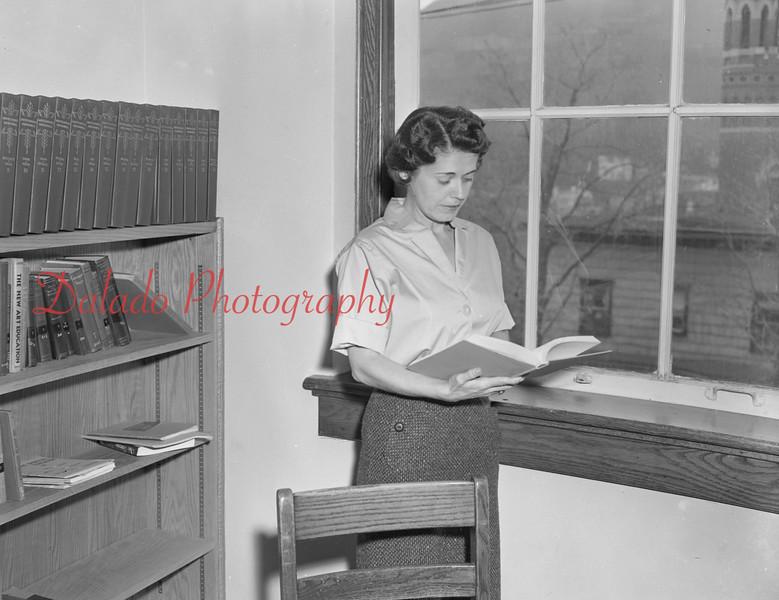 (1959-60) Shamokin High School: Teacher, Buck.