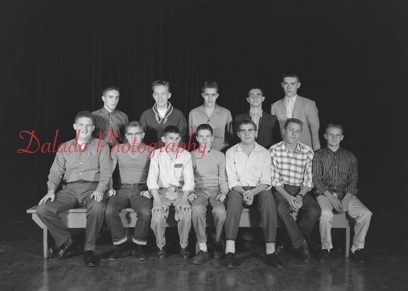 (1959-60) Shamokin High School: Chess Club.