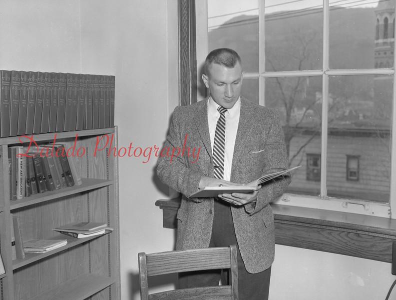 (1959-60) Shamokin High School: Teacher, Cawthern.