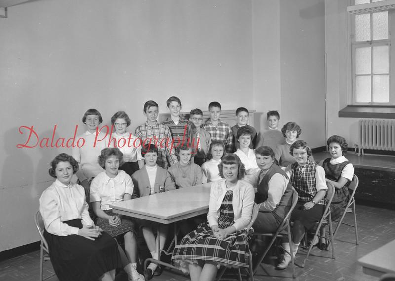 (1959-60) Shamokin High School: Junior High Dramatic Club.