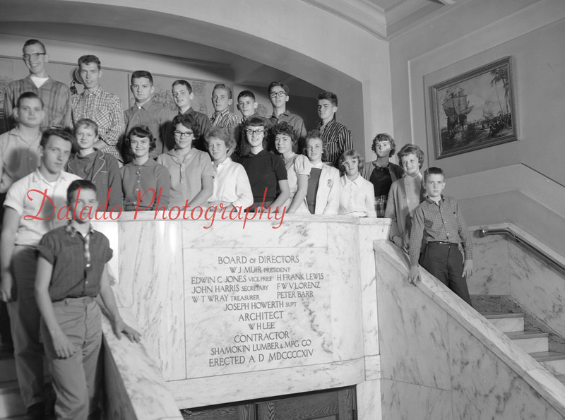 (1959-60) Shamokin High School: Tenth Graders, Varano.