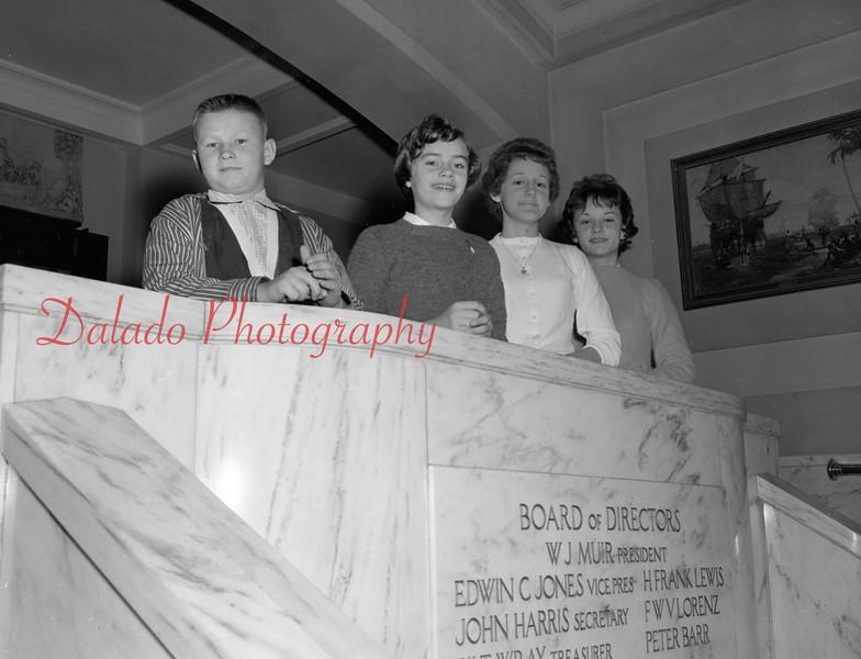 (1959-60) Shamokin High School: Red Cross.