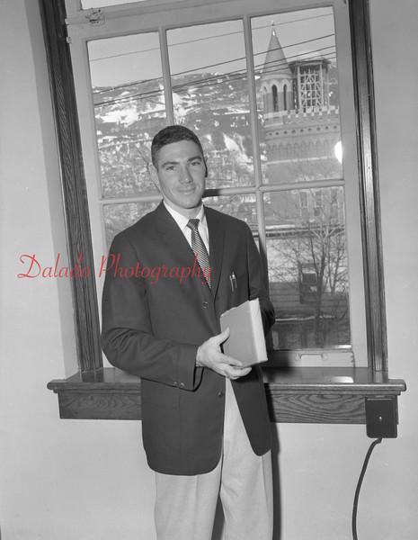 (1959-60) Shamokin High School: Teacher.
