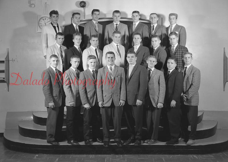 (1959-60) Shamokin High School: Boys Varsity Club.
