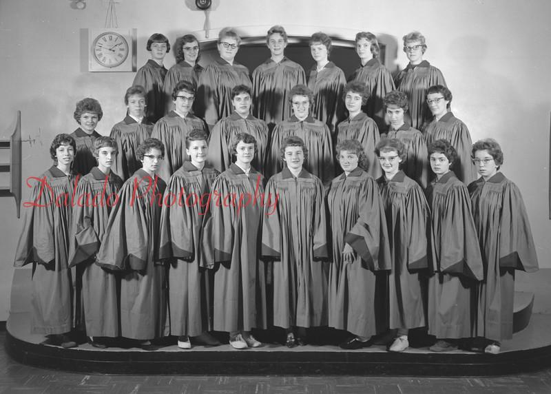 (1959-60) Shamokin High School: Girls Ensemble.