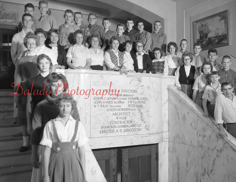(1959-60) Shamokin High School: Eleventh graders, Deppen.