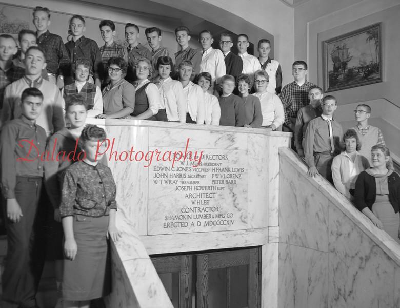 (1959-60) Shamokin High School: Eleventh graders, Fritz.