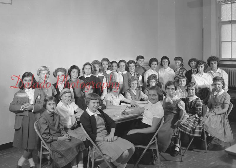 (1959-60) Shamokin High School: Choral Technique.