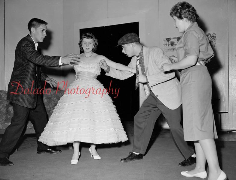 (1959-60) Shamokin High School: Musical.