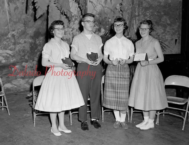(1959-60) Shamokin High School.
