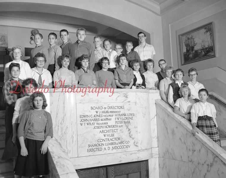 (1959-60) Shamokin High School: Ninth Graders, Wertz.
