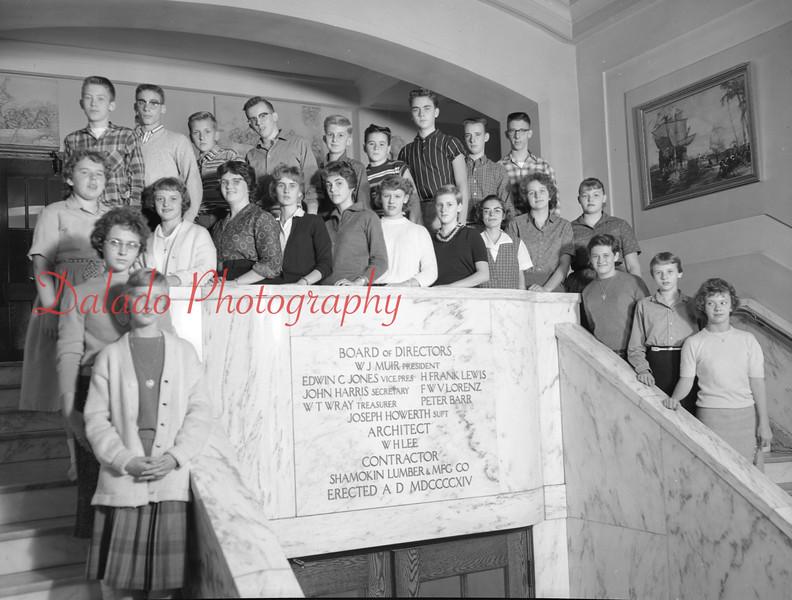 (1959-60) Shamokin High School: Ninth Graders, Walker.